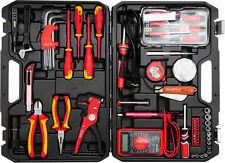 Yato Elektriker Werkzeug-Set Elektrowerkzeug Werkzeugkoffer Sortiment 68-Teilig