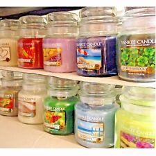 (L-Z Scent Choices) Yankee Candle MEDIUM JAR CANDLES 14.5 oz 13 oz Swirls CHOICE