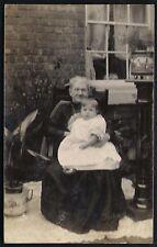 New Silksworth. Cole Family. Grannie & Child.