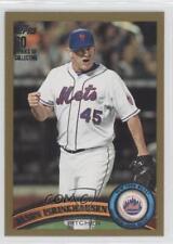 2011 Topps Update Series Gold #US266 Jason Isringhausen New York Mets Card