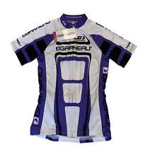 Women's cycling jersey genuine Louis Garneau performance equipe fullzip made USA