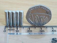 NEODYMIUM/RARE EARTH MAGNET -  3mm x 1.5mm - N35 - VARIOUS QUANTITIES