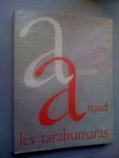 Antonin Artaud Les Tarahumaras E/O 1955 nté Arches