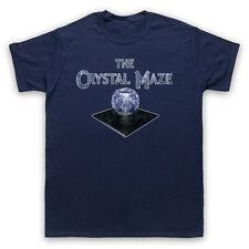 THE CRYSTAL MAZE UNOFFICIAL RETRO TV SHOW T-SHIRT MENS LADIES KIDS SIZES & COLS