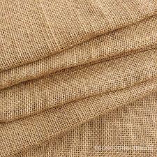 Luxury 12oz /100cm Jute Hessian Burlap Fabric Wedding Crafts Upholstery Sacking