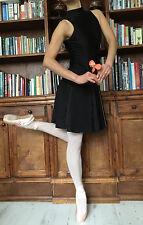 Profesional De Ballet Danza Niña/Dama Cuello Alto clave-Agujero Espalda Leotardo Vestido-Nuevo
