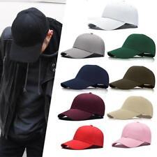 Unisex Fashion Blank Plain Baseball Cap Snapback Hat HipHop Street Dance bboy ZH