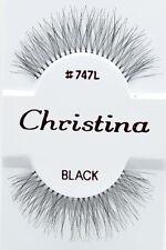 Christina #747L 6,12 Pairs 100% Human Hair False Eyelashes