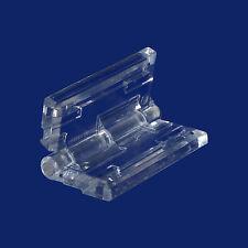 Acrylglas Scharnier farblos klar zum aufkleben auf Acrylglas und Plexiglas