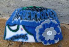 Minnesota Timberwolves Fleece Flower Hat - Newborn Baby,Children, Adult women