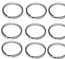 """WHOLESALE Lot 1000 500 100 50 NEW KEY RINGS 29mm 1-3/16"""" Diameter Split Ring"""