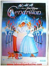 CENDRILLON CINDERELLA Affiche Ciné, Movie Poster DISNEY