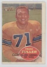 1960 Topps #111 Frank Fuller St. Louis Cardinals Rc Rookie Football Card