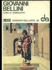 GIOVANNI BELLINI  CAMILLO SEMENZATO SADEA / SANSONI 1966 I DIAMANTI DELL'ARTE
