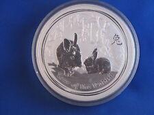 2011 Australia $30 Year Of The Rabbit Kilo .999 Silver B4157