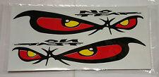 Sticker Decal Set Evil Eye 380 x 180 mm Car-Styling Bumper Stickers
