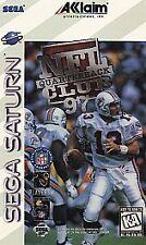 NFL Quarterback Club '97 Sega Saturn, 1996 Football FREE SHIPPING U.S.A.