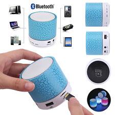Mini Bluetooth Lautsprecher LED MP3 FM Radio Musik Box Speaker Handy Tablet