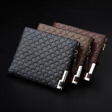 Hot Men Ultra-Thin Short Business Leather Wallet Money Bag Card Holder Burse