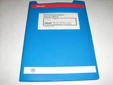 Werkstatthandbuch VW Passat B5 Motronic Einspritzanlage Zündanlage 1,6l 03/1997