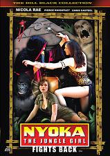 NYOKA THE JUNGLE GIRL FIGHTS BACK! Homage to serials! 3rd NEW NYOKA CHAPTER! DVD