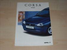 41082) Opel Corsa B Family Preise & Extras Prospekt 01/1997