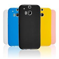 Silicone Case for HTC One M8 matt  + protective foils