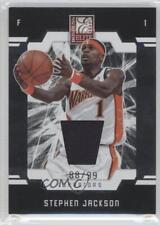 2009-10 Donruss Elite Jersey #32 Stephen Jackson Golden State Warriors Card