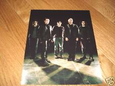 Nin Nine Inch Nails Cool 8x10 Color Band Promo Photo #1