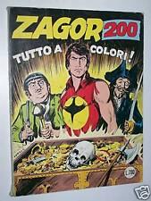 ZAGOR ZENITH GIGANTE-N° 251-CEPIM-TUTTO A COLORI!!!