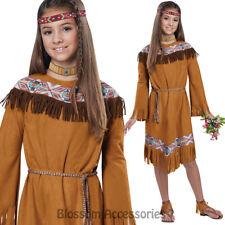 CK883 Classic Indian Girls Princess Native Child Pocahontas Book Week Costume
