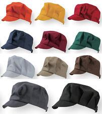 Cappello con Visiera Ristorazione Confezione 5 Pezzi Unisex Hat with Visor CAPAX