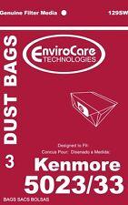 Kenmore 5023,5033,20-5033 Type E Vacuum Cleaner Bags