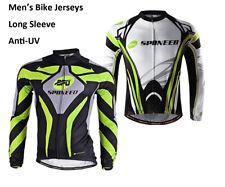 Men's Cycle Shirts Long Sleeve MTB Biking Top Clothing Breathable Biking Jerseys