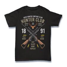 Funny T-shirt for men - DEER HUNTER CLUB novelty  gift idea