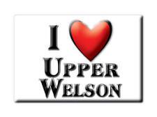 SOUVENIR UK - ENGLAND MAGNET I LOVE UPPER WELSON (HEREFORD AND WORCESTER)