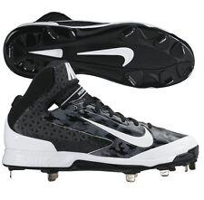 Nike Huarache Pro Mid Metal Baseball Cleats 599235-099 MSRP $95 RARE