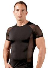 "Sexy Herren Shirt S - XL Netz transparent Hemd schwarz Erotik Swingerclub ""Neroy"