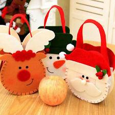 Christmas Doll Portable Apple Bag Children's Candy Bag Santa Claus Gift Bag BL3