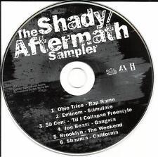 RARE TRX PROMO CD EMINEM Obie Trice 50 CENT UNRELEASED & MIX PROMO DJ CD Sampler