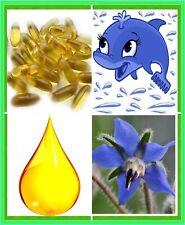 Borage Oil - Pure Starflower Capsules - 1250mg Softgels - Max Strength GLA - PMS