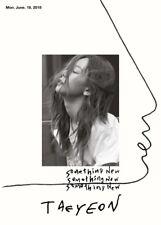SNSD TAEYEON SOMETHING NEW 3rd Mini Album CD+POSTER+Photobook+Card K-POP SEALED