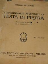 EMILIO SALGARI - STRAORDINARIE AVVENTURE DI TESTA DI PIETRA