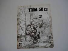 advertising Pubblicità 1972 MOTO BETA TRIAL 50