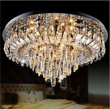 LED Crystal Chandelier Lamp Living Room Bedroom Lighting Ceiling Fixtures Home