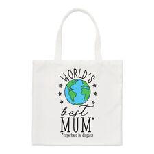 del mundo mejor mamá Pequeño Bolsa - Divertido de la Madre Día Shopper Hombro