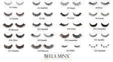 Bella Minx Lashes Mink False Natural Ultra Soft Light Weight Flexible Eye lashes