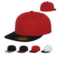 Flexfit Premium 210 Fitted Cap 2-tone 2-farbig Kappe Baseballcap S/M L/XL Neu