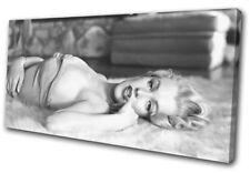 Marylin Monroe Vintage Retro Movie Greats SINGLE TOILE murale ART Photo Print