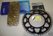 Yamaha YZF 250 01-08 Iris 520 RXP Chain & Sprocket Set 12T 48T Black